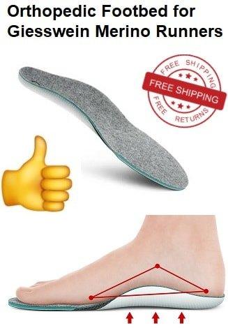 giesswein orthopedic footbed