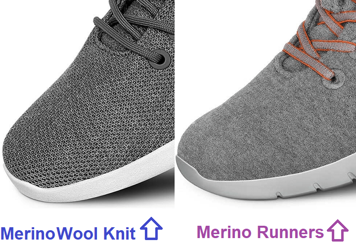 merino wool knit vs runners